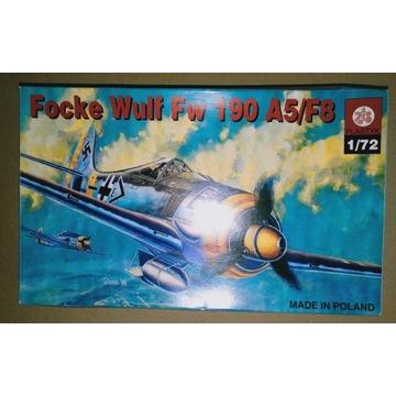 Focke Wulf Fw 190 A5/F8 ZTS Plastyk 1/72