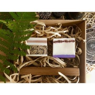 Świece aromaterapeutyczne ze świecznikiem