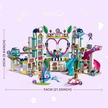 Kurort w Heartlake klocki z LEGO Friends kompatybi