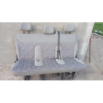 Fotel ławka opel vivaro