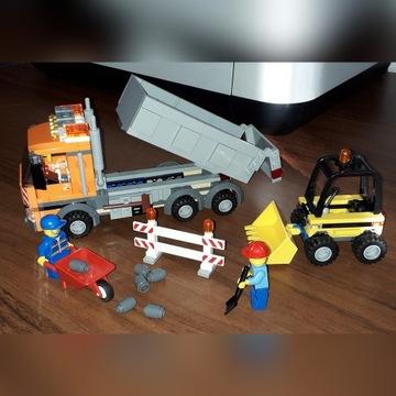 Lego 4434 Wywrotka plus Gratis mały spychacz.