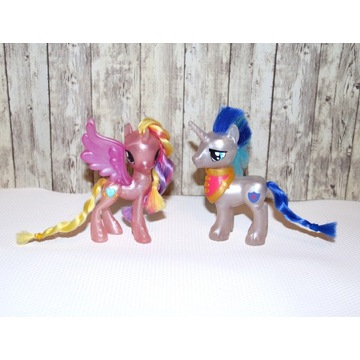 My little pony brokatowa para Armor i Celestia