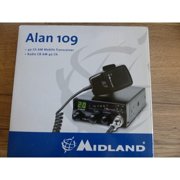 CB radio Alan 109 NOWE