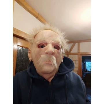Maska starego człowieka maski przebranie ,realisty