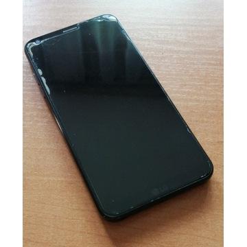 Telefon LG-Q6, LG-M700A 3/32 czarny, używany