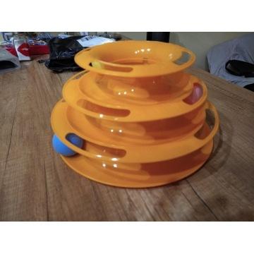 zabawka dla kota gramofon trójwarstwowy