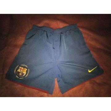 Spodenki Nike FC Barcelona, rozmiar M juniorski!