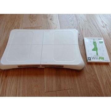 WiiFit- przyrząd do ćwiczeń fizycznych WII.