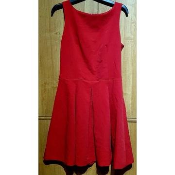 Sukienka suknia Agnes roz. 38 / M rozkloszowana