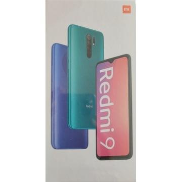 Xiaomi Redmi 9 NFC 4/64GB Carbon Grey, nowy P-ń