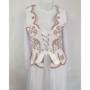 Ubranie ślubne folk