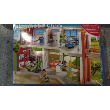 Playmobil Duży szpital z wyposażeniem 70190 pełny!