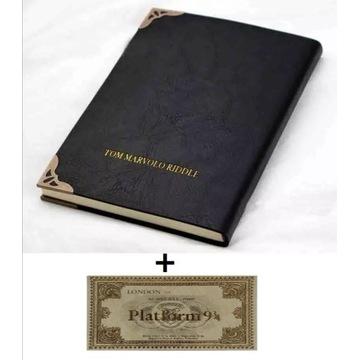 Harry Potter dziennik pamiętnik notes + bilet z PL