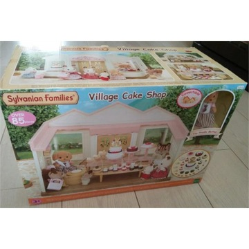 Króliczki Sylvanian Families Cukiernia Cake Shop