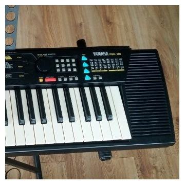 Yamaha PSR 110 keyboard organy pianino komplet