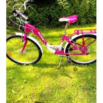 """ROMET PANDA CITY Rower dla dziewczynki 14"""""""