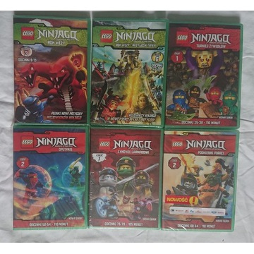 Lego Ninjago zestaw 6 dvd