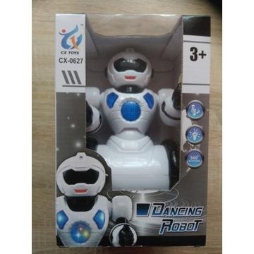 Interaktywny robot tańczy świeci gra