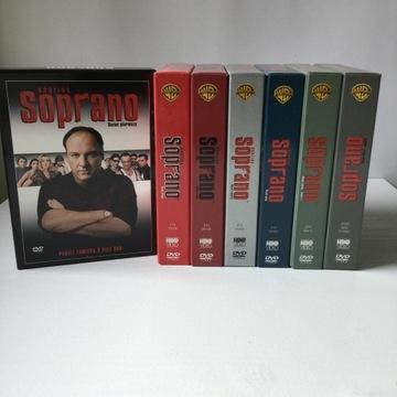 Rodzina Soprano/ Sezony 1- 6 /30 DVD /Napisy PL