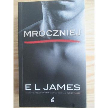 Książka MROCZNIEJ - 50 twarzy Greya - E.L. James