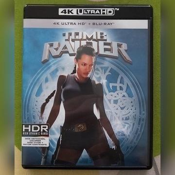LARA CROFT: TOMB RAIDER 4K UHD/BD