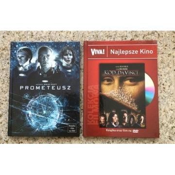 PROMETEUSZ , KOD DA VINCI  -  DVD