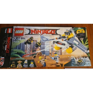 Klocki LEGO Ninjago MovieBombowiec Manta Ray 70609