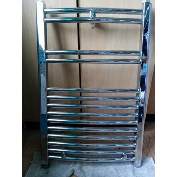 Grzejnik łazienkowy chrom 50cmx80cm