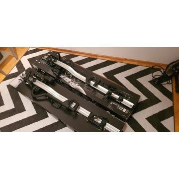 Uchwyty rowerowe THULE 598 x 2 |One Key System