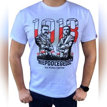 Koszulka POLSKA NIEPODLEGŁOŚĆ marsz Niepodległości