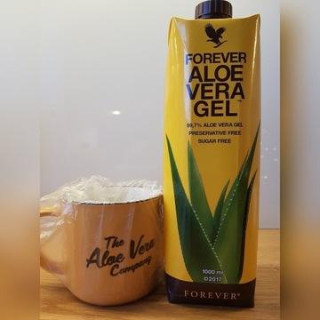 Forever Aloe Vear Gel 1L + KUBEK - OKAZJA