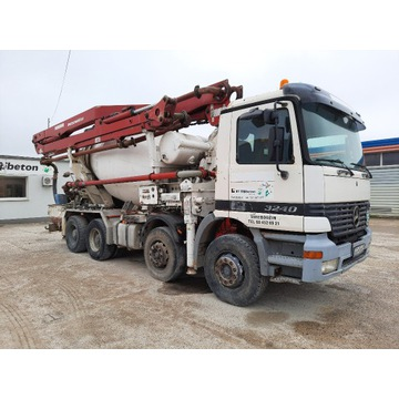 Mercedes-Actros 2631 pompa Schwing 34m