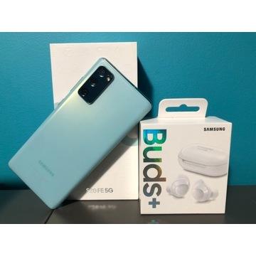 Samsung s20fe 5g 6/128gb, galaxy buds+ gratis