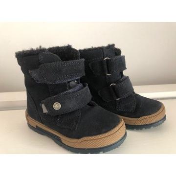 Buty dziecięce zimowe, ocieplane Bartek rozm. 22