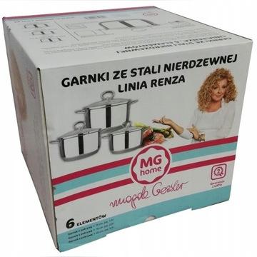 Garnki RENZA z serii MG Home