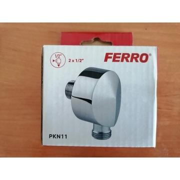 Nowe przyłącze kątowe do węża Ferro PKN11