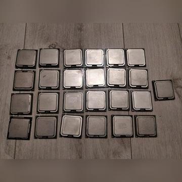 ZŁOM KOMPUTEROWY - 25szt. procesorów, 600g