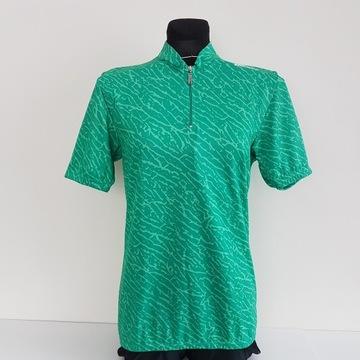 Santini koszulka rowerowa retro nowa zielona XL