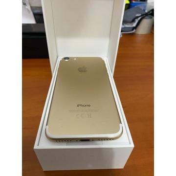 Iphone 7 GOLD 128 GB + gwarancja do 06.11.20