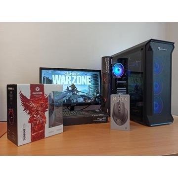 Gamingowy PC + monitor i akcesoria - GTX 1660 Ti