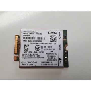 MODEM SIERRA K2W44 EM7305 DW5809e LTE