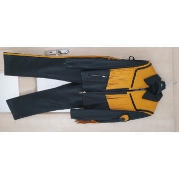 Skórzana kurtka i spodnie Nowe! Wysoka jakość!