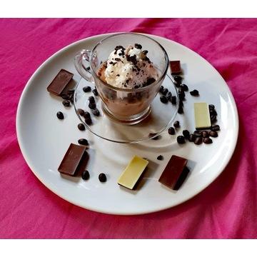 Świeczka sojowa kawa deser