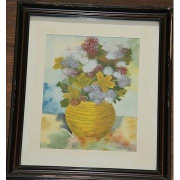 Wazon i kwiaty E. Wizner