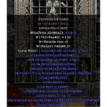 Wezwanie Do Broni / CTA - Diablo 2 LOD NOWY LADDER