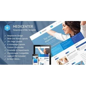Medicenter - Motyw Premium WordPress. Licencja.