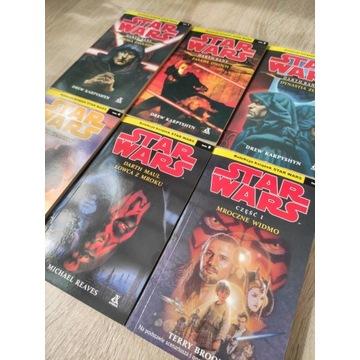 Star Wars trylogia Bane + 3 kolejne tomy Amber