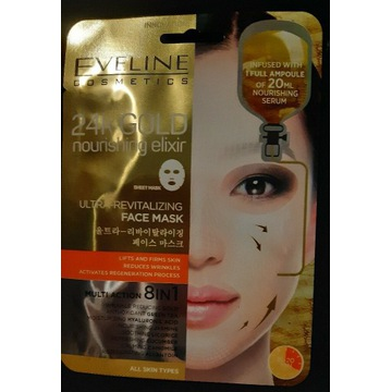Eveline 24K Gold 8in1 Z KOREI