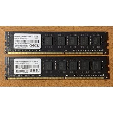 Pamięci DDR3 GEIL Black Dragon 16GB (2*8GB Dual)