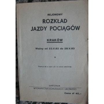 Kraków 1983 Katowice Lublin Kielce Warszawa Sanok